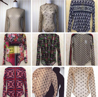 biquíni maiô venda por atacado-2020 New Sexy Womens Long Sleeve Bottoming shirt Ternos Biquini 9 Projeto Swimsuit Bandage de banho de uma peça de maiôs para as mulheres