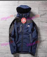ingrosso giacca da sci-NUOVI uomini del nord Softshell Jacket giacca uomini all'aperto Sport cappotti donna sci escursionismo antivento invernale Outwear Soft Shell giacca da trekking uomo