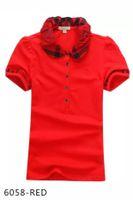 camisas para mulheres venda por atacado-O desenhador das mulheres camisetas de impressão de alta qualidade rodada designer de marca t-shirts modelos curto-mulheres camisas polo mulheres homens crianças por atacado