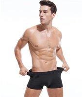 caleçon l taille achat en gros de-Designer Hommes Sous-vêtements de mode Taille Plus solide Caleçon Homme Luxe Respirant Casual Sexy Caleçons Caleçon Homme