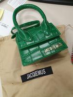 tasarımcı kadın timsah çanta lüks toptan satış-2019 Moda Lüks Çanta Kadın Tasarımcı Mini Timsah Çanta Dokulu Omuz Crossbody Çanta