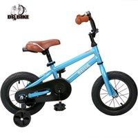 12-дюймовые велосипедные колеса оптовых-12 дюймов детский велосипед тотем поделок синий стальной детский велосипед поделки стикер детский велосипед со съемными колесами и колоколом