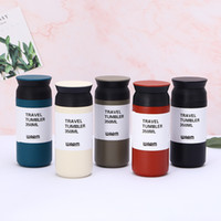 Wholesale stainless steel watering can for sale - Group buy 12oz Vacuum Tumbler Stainless Steel Skinny Cup Custom Logo Cups Travel Tumblers Insulated Can Water Bottle Coffee Mugs colors GGA2624