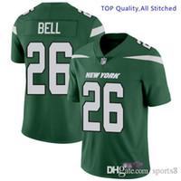 Wholesale cj jersey for sale - Group buy Men s Womens Jamal Adams Jersey Le Veon Bell Sam Darnold CJ Mosley Quinnen Williams Jets New York customized american football jerseys