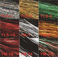 Jig Head Hook Fly Tying Materials Flash Lure Making Material Holographic Tinsel