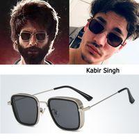 Wholesale new popular sunglasses resale online - DPZ NEW Fashion Kabir Singh SteamPunk Style aviation men Sunglasses Cool Popular Brand Design rayeds Sun Glasses Oculos De sol
