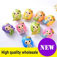 Wholesale mermaid doll toys for sale - Group buy Squishy Toy mermaid Slow Rising Jumbo Stress Relieve Dolls Multicolor Children Squeeze Toys Kids Decompression best gift