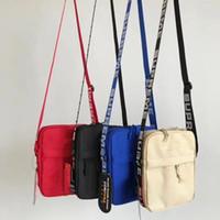 Wholesale men s bag shoulder black resale online - S u p th Pack Chest Unisex Shoulder Bag Fanny Pack Fashion Waist Bag Men Canvas Hip Hop Belt Bag Messenger Bags