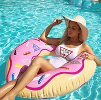 ingrosso costume da bagno bandeau viola-2019 Estate Sexy Bikini di un pezzo per le donne Costume da bagno Costumi da bagno di marca di moda con lettere Lady Backless costumi da bagno 3 colori S-XL