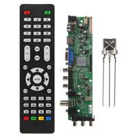 placa base universal al por mayor-RAM 1G4G Almacenamiento MSD338STV5.0 Kit de placa de controlador de TV de red inalámbrica Universal Android LCD Motherboard 1024M Oct30 Drop ship