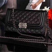 kadınlar için iphone cüzdan toptan satış-2019 yeni kadın haberci çantası çevir cüzdan deri kılıf telefon kılıfı iphone XS MAX XR X 7 7 artı 8 8 artı 6 6 artı kart yuvası ile