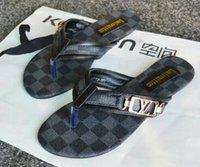 sohle pu sandale großhandel-Frauensandalen streifen gestreifte Sandalen mit Gummisohle mit Steggummiband Damenmode Flip-Flop 20187
