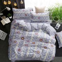 Wholesale girls flower comforter bedding sets resale online - Flower Girl Boy Kid Bed Cover Set Duvet Cover Adult Child Bed Sheets And Pillowcases Comforter Bedding Set TJ