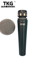mejores micrófonos de alambre al por mayor-2017 grace A con transformador dentro de la mejor calidad fabricante profesional de karaoke enping stage karaoke beta micrófono con cable beta58a mic