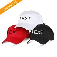 ingrosso nomi dei colori d'autunno-Personalizzabile Cappello da baseball Personalizzato Sport Cap Autunno Ricamo Logo Scegli il tuo preventivo Nome Design Testo Stile Colore filo