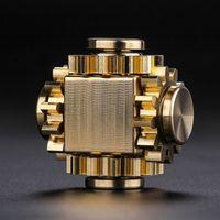 Wholesale spiral gyro toy resale online - Finger tip gyro gear linkage bearing EDC finger spiral decompression creative popular toys