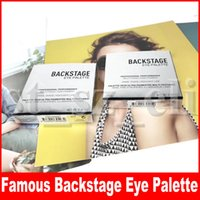 sombra de olho famoso venda por atacado-Maquiagem famosa Eye Paletas 9 cores nos bastidores Paleta de Sombra Professional Desempenho Matte Mult-Finish alta Pigment Eyeshadow