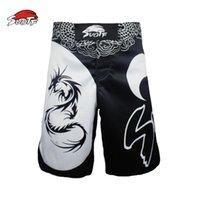 engrenagens das artes marciais venda por atacado-Calças de boxe Cobra Muay Thai Shorts Luta dos homens SOTF Kick Boxing Grappling Martial Arts engrenagem Homens