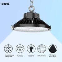 150W 100W 70W 50W LED High//Low Bay Lights Daylight Warehouse Industrial Lighting