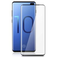 augen iris großhandel-Displayschutzfolie für Galaxy S10, S10Plus, S10e Full Coverage Schutzhülle Friendly High Sensitivity Support Eye Iris und Face Unlock Anti Fingerprin