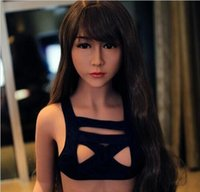 Wholesale inflatable doll solid full silicone for sale - Group buy Realistic Solid Silicone Sex Doll with for Men Masturbation Full Size Love Doll Sexy Toys