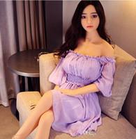 ingrosso giapponesi colpirono bambole adulte-Realistici bambole del sesso maschile giapponesi bambole di amore in silicone reale a grandezza naturale realistiche bambola gonfiabile per adulti giocattoli del sesso per uomo