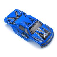 wltoys rc cars parts achat en gros de-WLtoys 1:18 Voiture RC Pièces de rechange d'origine A979-04 Housse de protection pour voiture Bleu A979-05 Rouge