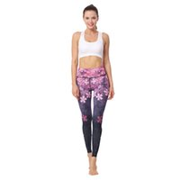f661e1615f441d Printed Yoga Leggings Light weight Highly Elastic Flexible Fabric Yoga Pants  for Active wear Yoga Practice Clothing Casual Wear