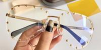 черные розовые очки рамы оптовых-Z09140 мода женская мода дизайн популярные очки выдалбливают оптические линзы полный кадр черная черепаха серый розовый с чехлом