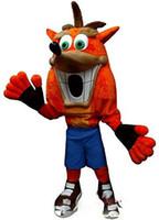 projeto livre do traje da mascote venda por atacado-Personalizado Newly fox mascot costume Adulto Tamanho frete grátis