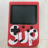 Wholesale newest video game console resale online - Newest SUP Mini Handheld video Game Console Portable Players IN Game BOX Colorful LCD Screen Game Player DHL Free
