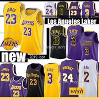 ingrosso palle-NCAA 24 Kobe 3 Davis 23 James Maglie Los Angeles 0 Kuzma 2 Ball 14 Ingram 8 Bryant Jersey 2019 Adulto / bambini
