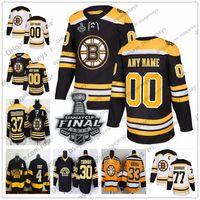 camiseta de terry o'reilly al por mayor-Boston Bruins 2019 Stanley Cup Jugador retirado Jersey # 16 Derek Sanderson 24 Terry O'Reilly 30 Gerry Cheevers 77 Ray Bourque Clásico de invierno