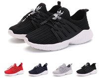 niños zapatos de correr gratis al por mayor-Envío libre 4color marca niños zapatos deportivos casuales niños y niñas zapatillas de deporte para niños zapatillas para niños size25-36
