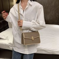 Wholesale cross china bags resale online - 2019 fahsion China Brand Square Messenger Chain Bags Purse Cross body Purse Fashion Women Clutch Famous Crossbody Shoulder bags Miumiu