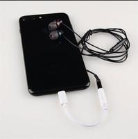 iphone ios kablosu toptan satış-Kulaklık Kulaklık Jak Adaptörü Dönüştürücü Kablo Aydınlatma iPhone7 iPhone 7 Plus IOS Cord için 3.5mm Ses Aux Bağlayıcı Adaptörü