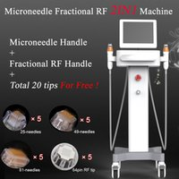 Wholesale facial frequency machine online - 2019 New radio frequency RF machine acne removal skin care microneedle rf facial machine Stretch marks removal spa equipment