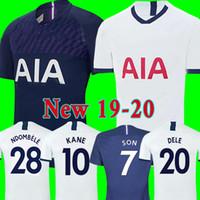 thailand jersey al por mayor-Tottenham hotspur spurs soccer jersey football shirt Camiseta de fútbol de Tailandia KANE 2019 2020 LAMELA ERIKSEN DELE SON DIER espolones jerseys 19 20 chandal de fútbol uniformes