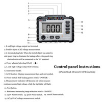 Wholesale insulation tester meter for sale - Group buy Freeshipping Vc60B V Megger Insulation Tester Megohmmeter Ohm Tester Insinsulation Resistance Tester Meters Multimeter