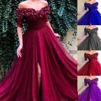 платья подружки невесты оптовых-2019 новый шею с короткими рукавами высокой талией сплошного цвета с высоким вырезом марлевые платья платье невесты фабрика сразу YMJ-15341