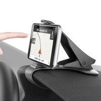 car cradles großhandel-Kfz-Halter Clip Mount Armaturenbrett Autotelefonhalter 360 drehbare Ständer Mount Display GPS Halterung für Samsung GPS Car Cradle