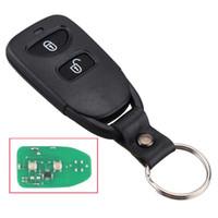 anahtar uzaktan kumandalı fob anahtarsız giriş toptan satış-2 + 1 Düğmeler Araba Uzaktan Giriş Anahtar Anahtarsız Fob Hyundai Santa Fe Tucson Için 46 Çip Ile