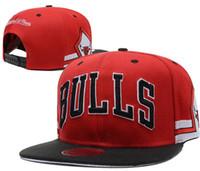 en sıcak kadınlar beyzbol toptan satış-SıCAK 2019 Ayarlanabilir toptan fiyat Chicago Snapback Şapka Snap Back Şapka Basketbol Ucuz Şapka Ayarlanabilir kemik erkekler kadınlar Snapback Beyzbol Şapkası