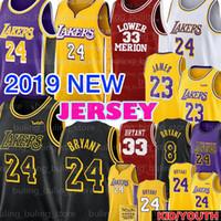 camiseta de baloncesto 34 al por mayor-Kobe 24 Bryant Jersey LeBron 23 James Kobe 33 Bryant 8 baloncesto jerseys Giannis 34 Antetokounmpo Luka 77 Doncic 13 Harden