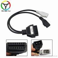 cable de diagnóstico vag al por mayor-Cable OBD / OBD2 Conector para Audi 2PIN-16PIN cable del diagnóstico de VAG cable adaptador para AUDI A4 A3