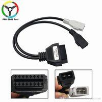 vag диагностический кабель оптовых-OBD / OBD2 разъем кабеля для Audi 2PIN-16PIN диагностический кабель VAG Кабель-адаптер для AUDI A3 A4
