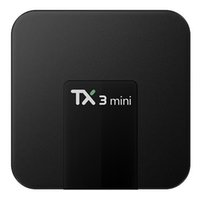 четырехъядерный ядро android iptv оптовых-Оригинальный TX3 Mini Android 8.1 TV Box 1 ГБ 8 ГБ Amlogic S905W Quad Core 2.4 Г Wi-Fi 4 К IPTV