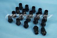ingrosso dadi di vite jdm-20 pezzi JDM M12 x 1,25 Viti dadi ruota da corsa per nero