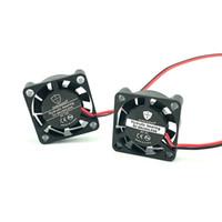 micro ventilador 12v al por mayor-GUNCAIZHU 25mm Ventilador de enfriamiento sin escobillas 12V 5V DC Mini ventilador Enfriador de alta velocidad 11870RPM 2.5cm micro disipador de calor 2507 25x25x7mm