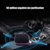 filtros de ar auto venda por atacado-Purificador de Ar do carro com Purificador de Ar Mais Limpo Filtro Negativo Ionizador USB Formaldeído Bactérias Odor Dispositivo Purificante Auto Bens